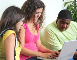 Students Doing College Planning from Ed.gov Brochure